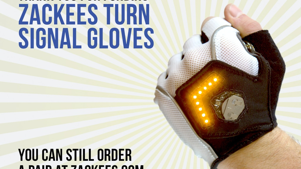 Zackees Turn Signal Gloves project video thumbnail