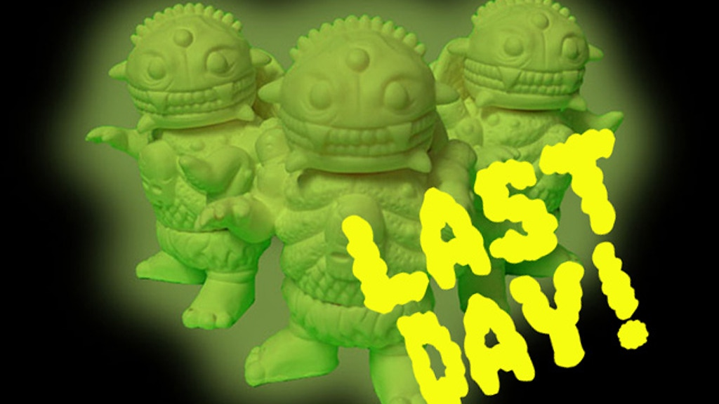 Cheestroyer Cheeseburger Glow in the Dark Vinyl Toy project video thumbnail