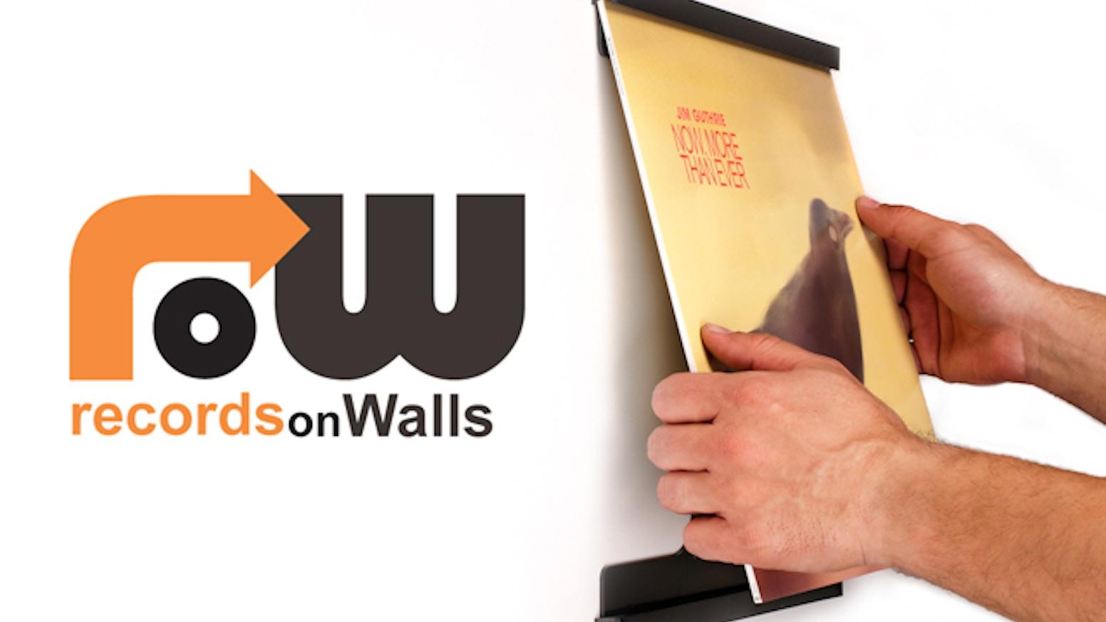 Recordsonwalls Vinyl Record Frames By Steve Holub