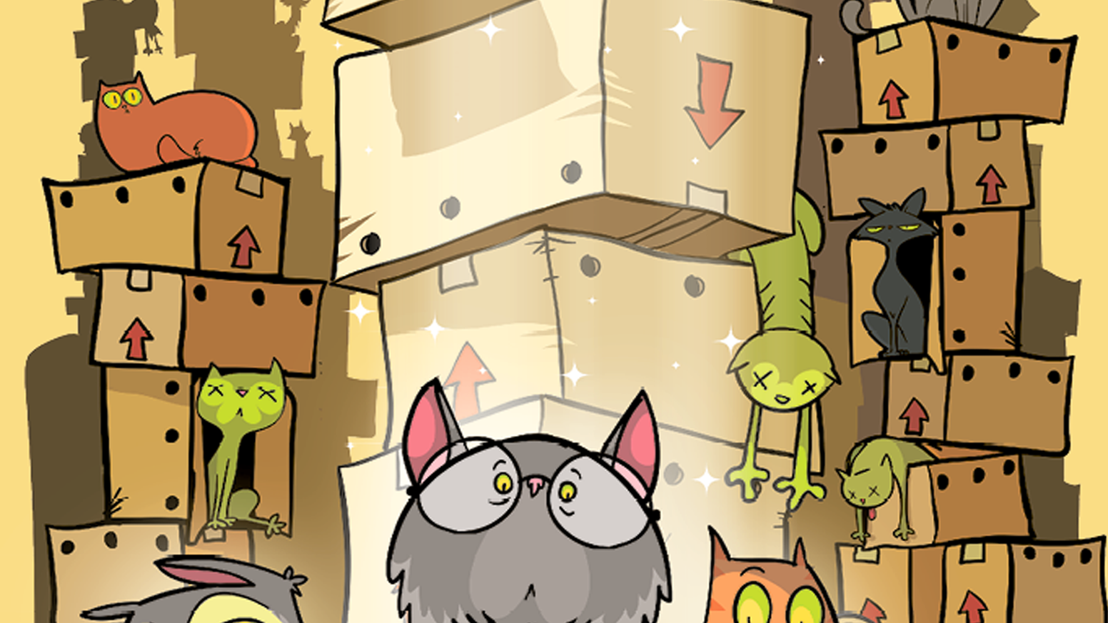 afb6e5270 Schrödinger's Cats is a pseudo-scientific card game of strategic  uncertainty. WHAT'S IN THE