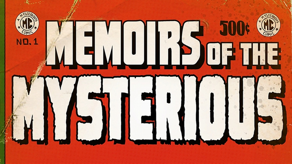 Memoirs of the Mysterious COMIC ANTHOLOGY project video thumbnail