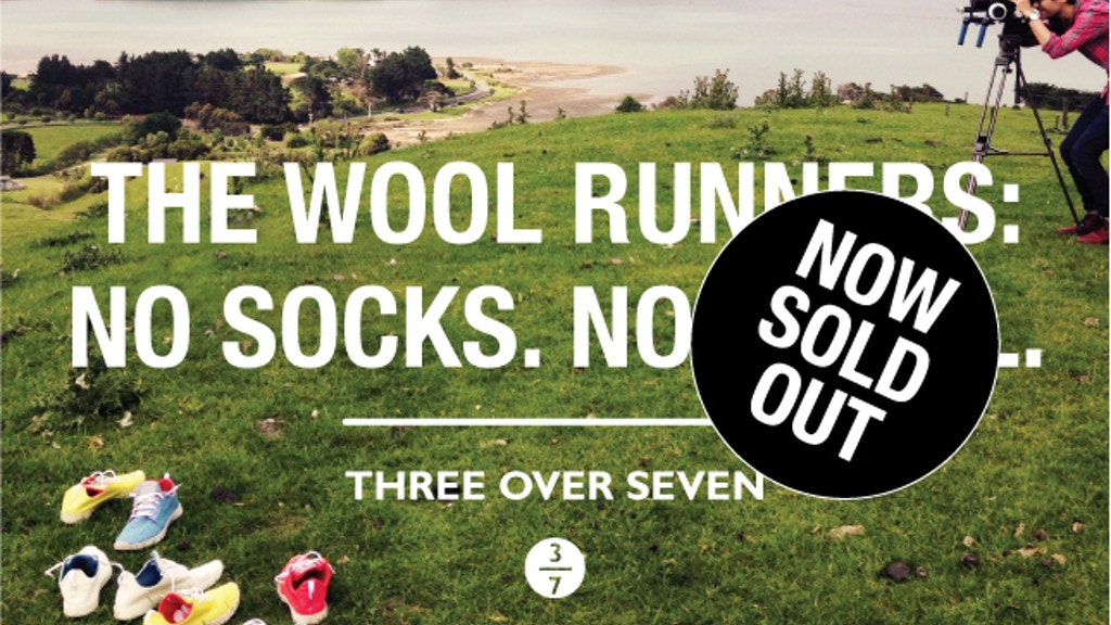 The Wool Runners: No Socks. No Smell. project video thumbnail