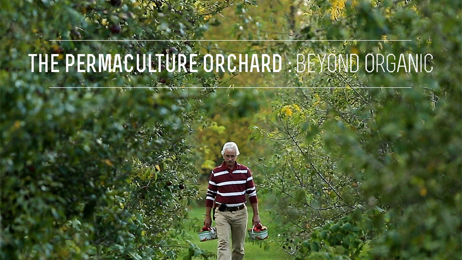 A full-length documentary film about the largest permaculture orchard in eastern North America and on the future of fruit growing