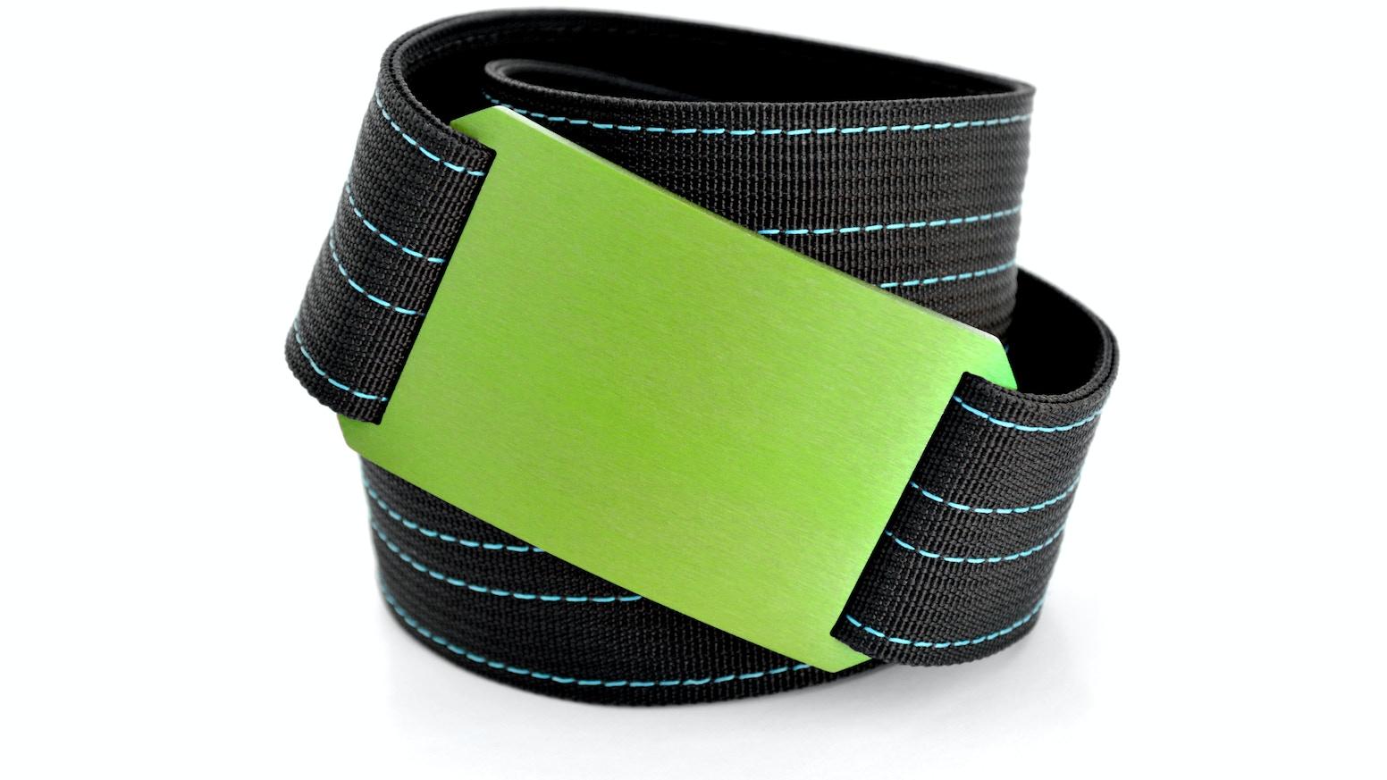 A premium belt designed with no bulk, no holes and no belt flap.