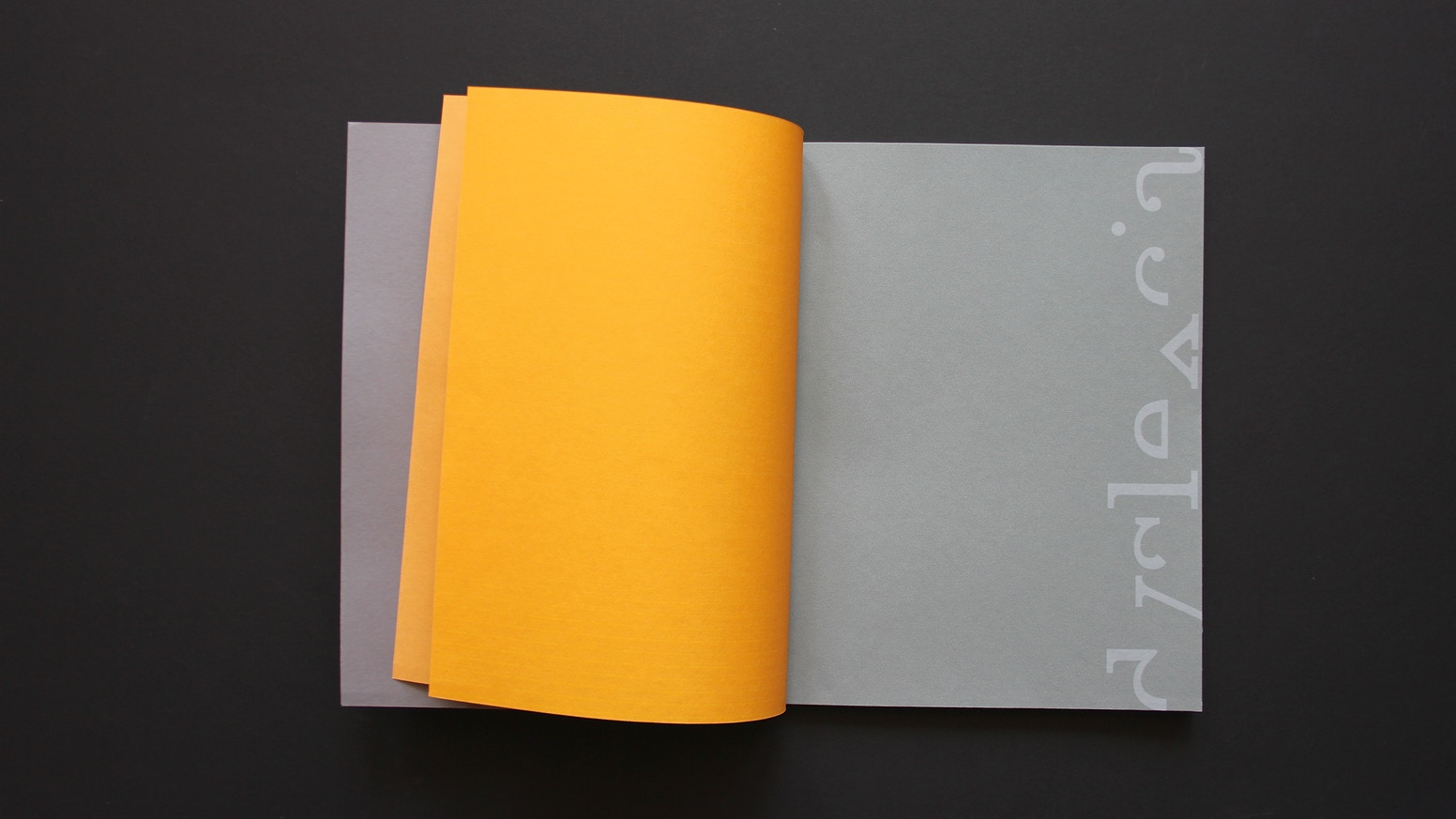 A beautiful, design led experience of what it feels like to struggle with reading.