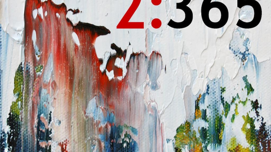 2:365 Art Book project video thumbnail