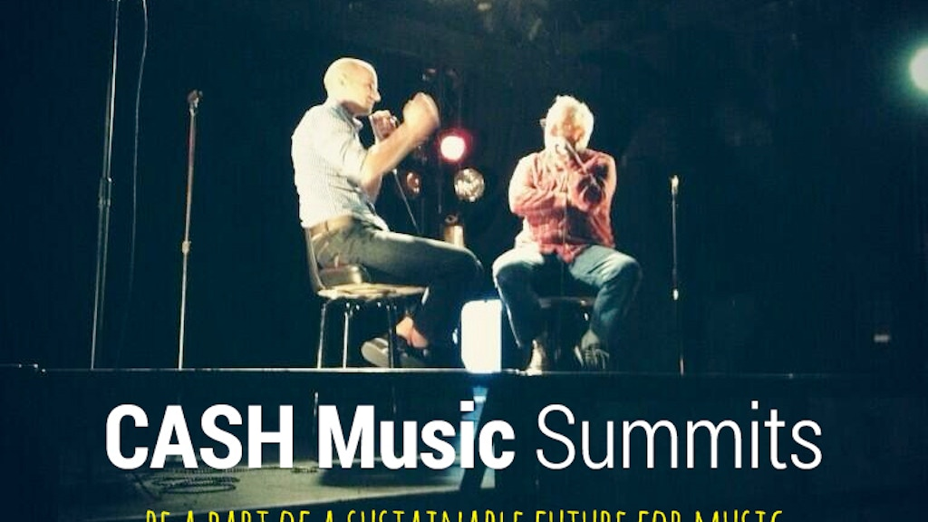 CASH Music Summits, music meets technology project video thumbnail