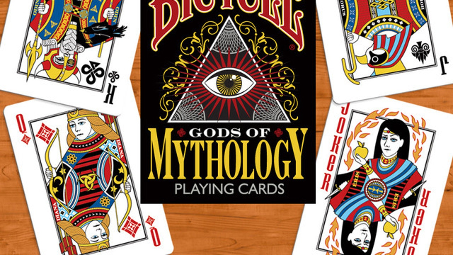 Bicycle Gods of Mythology Playing Cards by Collectable Playing Cards ...