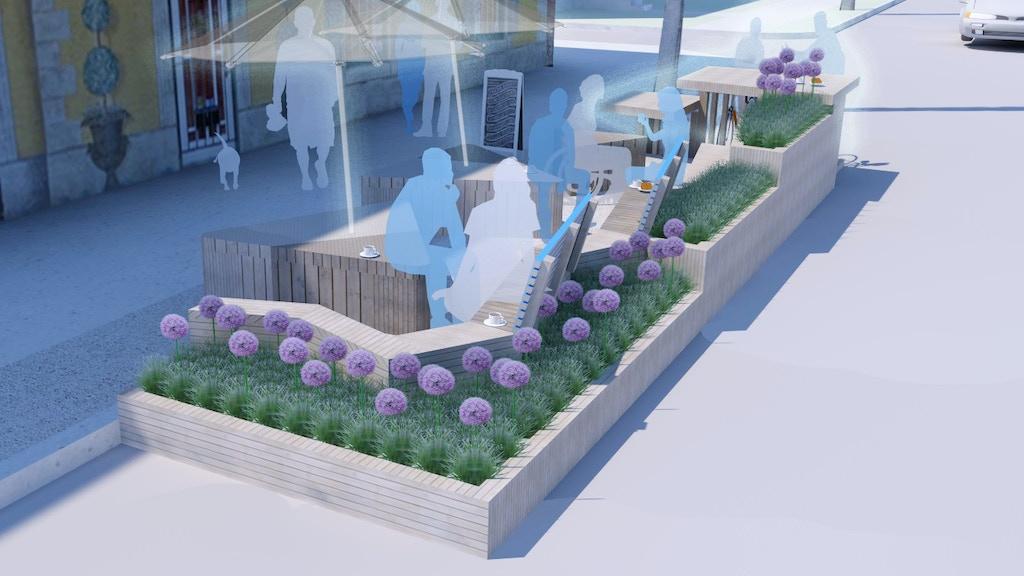 The French Quarter Parklet project video thumbnail