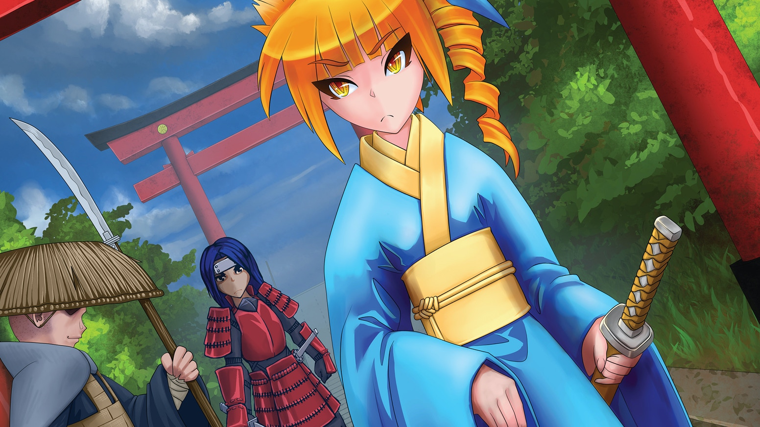 Wa, The Anime & Manga RPG by Joe Bush » Updated Character