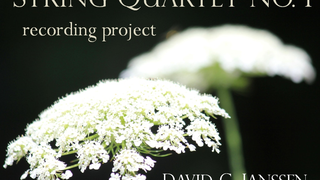Recording String Quartet No. 1 project video thumbnail