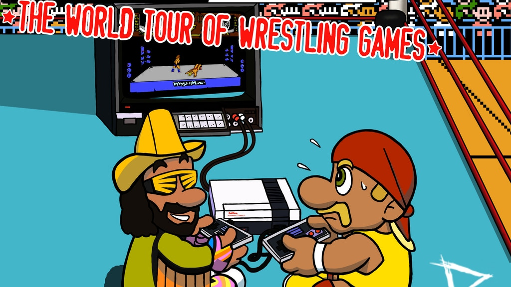 Wrestling With Pixels: The World Tour Of Wrestling Games project video thumbnail