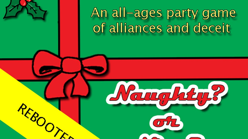 Naughty Or Nice Reboot Werewolf Mafia Christmas Game By Mr