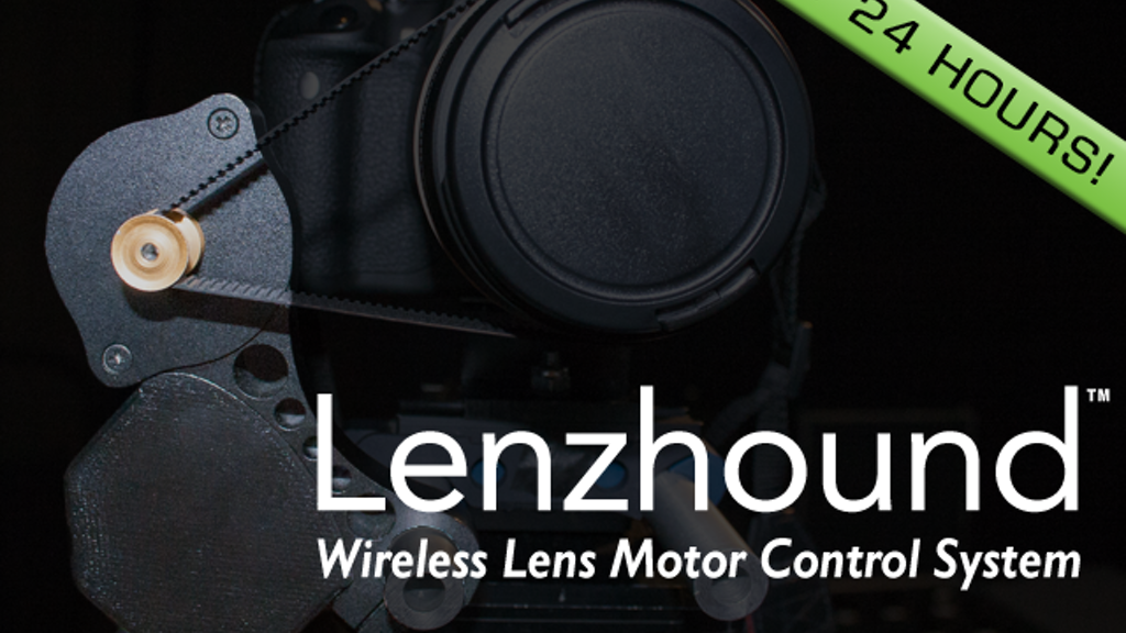 Lenzhound Wireless Lens Motor Control System project video thumbnail