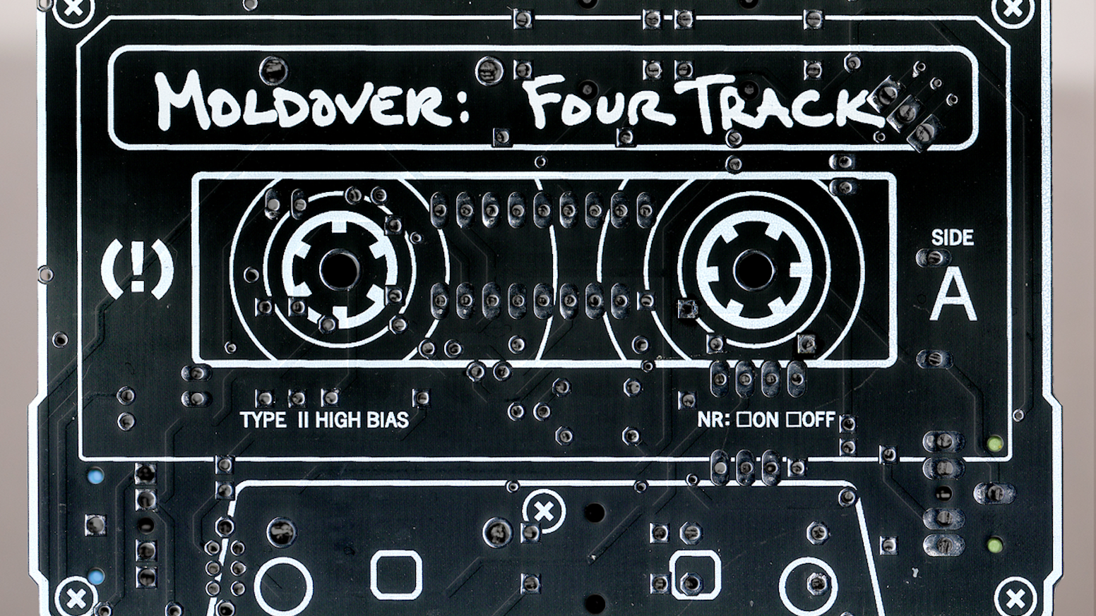 Moldover Waaaaay More Than An Album Four Track By There Are Fancier Designs Available But The Above Circuits Musician Artist And Inventor Presents A New Original Packaged In Playable
