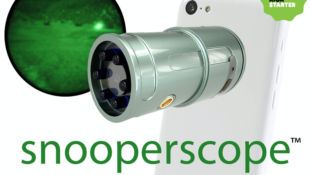 Snooperscope™: Night Vision for Your Smartphone iPhone iPad project video thumbnail