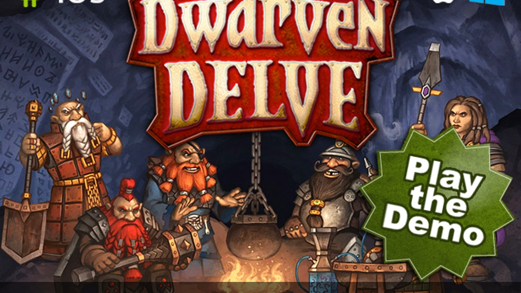 Dwarven Delve - An Action Dungeon Crawl with a Twist project video thumbnail