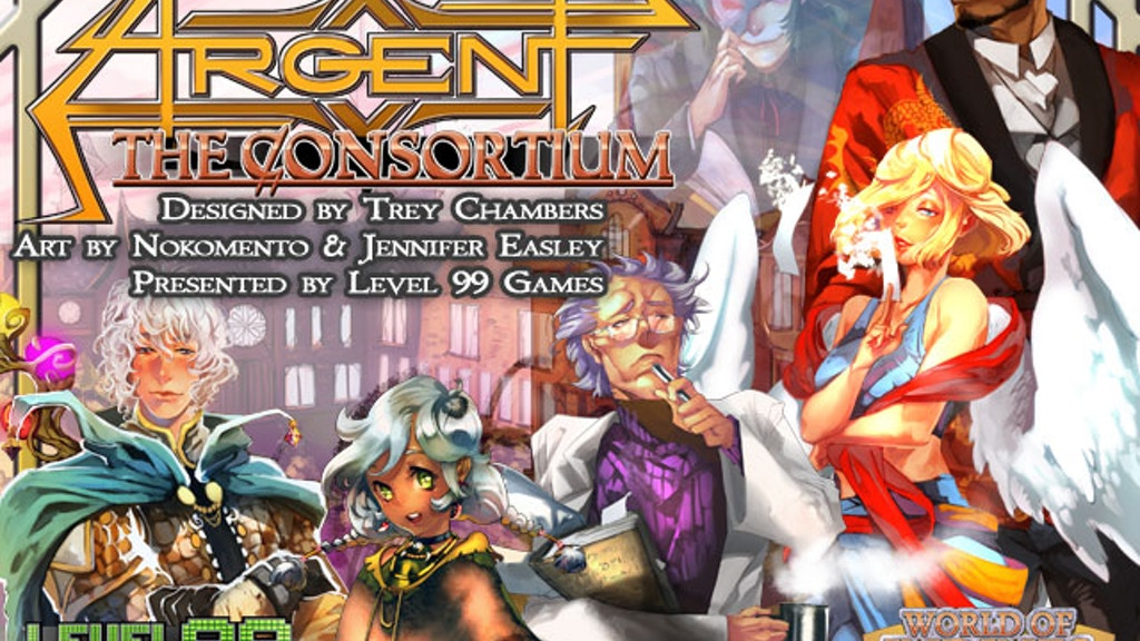 Argent: the Consortium - Influence. Intrigue. Power. project video thumbnail