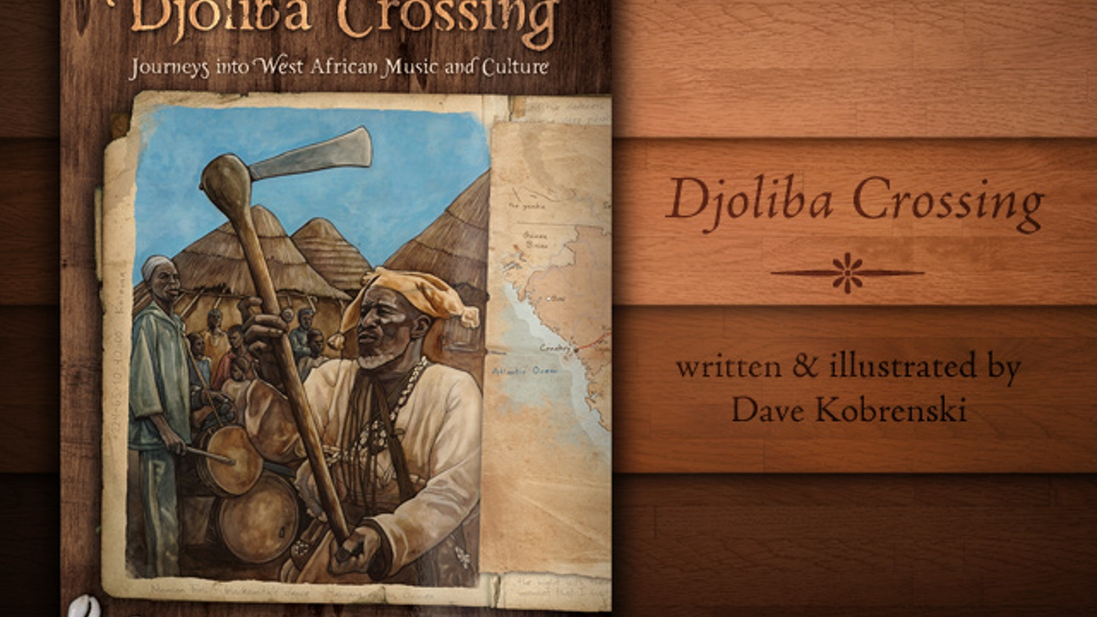 Djoliba Crossing tells the story of an artist's journey into the heart of West Africa to explore Mandé music and culture.