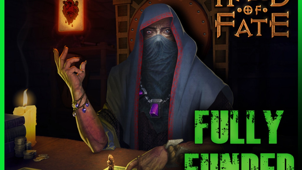 Hand of Fate, a card game that comes to life project video thumbnail