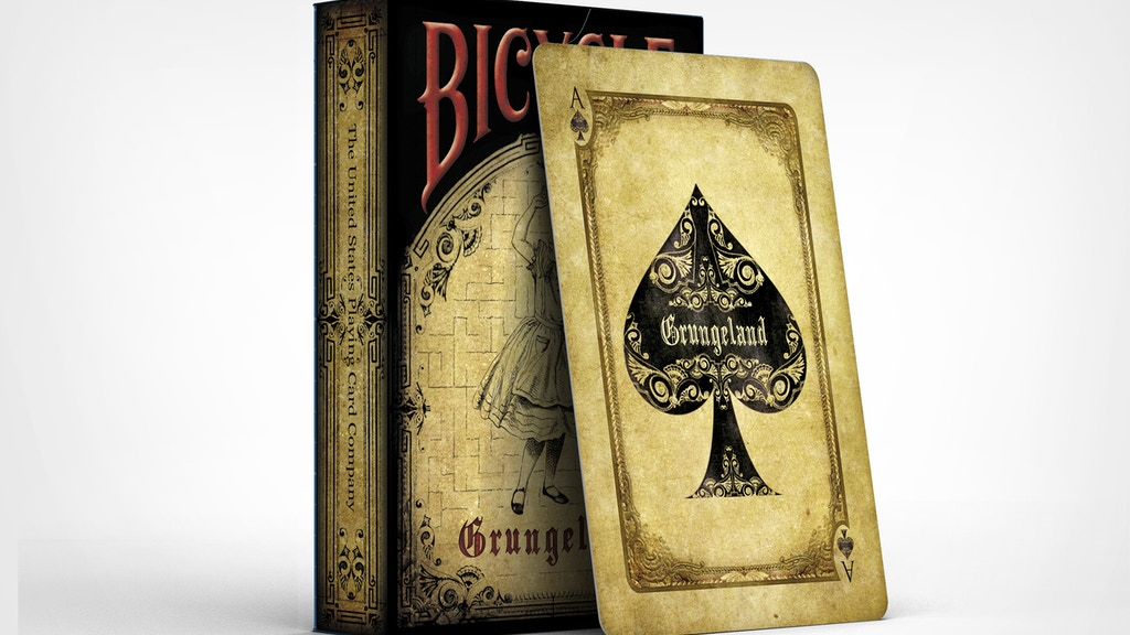 Project image for Bicycle Grungeland Playing Cards (Canceled)