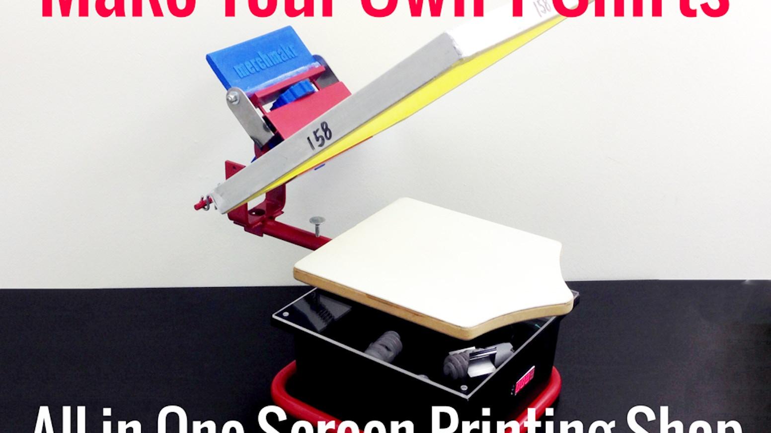fd6e5933 Merchmakr: desktop screen printing shop. Merchmakr: Everything you need to  screen print a T-shirt ...