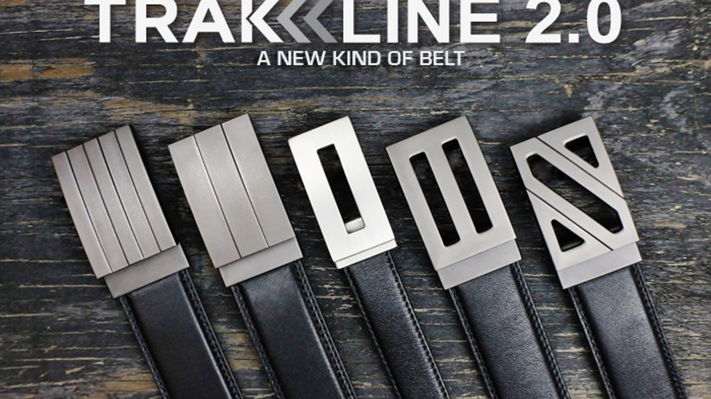 TRAKLINE >> the best belt you'll ever own project video thumbnail