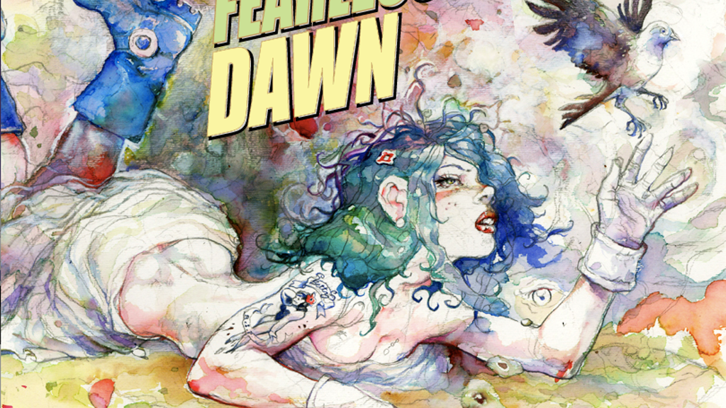 """FEARLESS DAWN """"Eye of the Beholder"""" Comic Book project video thumbnail"""