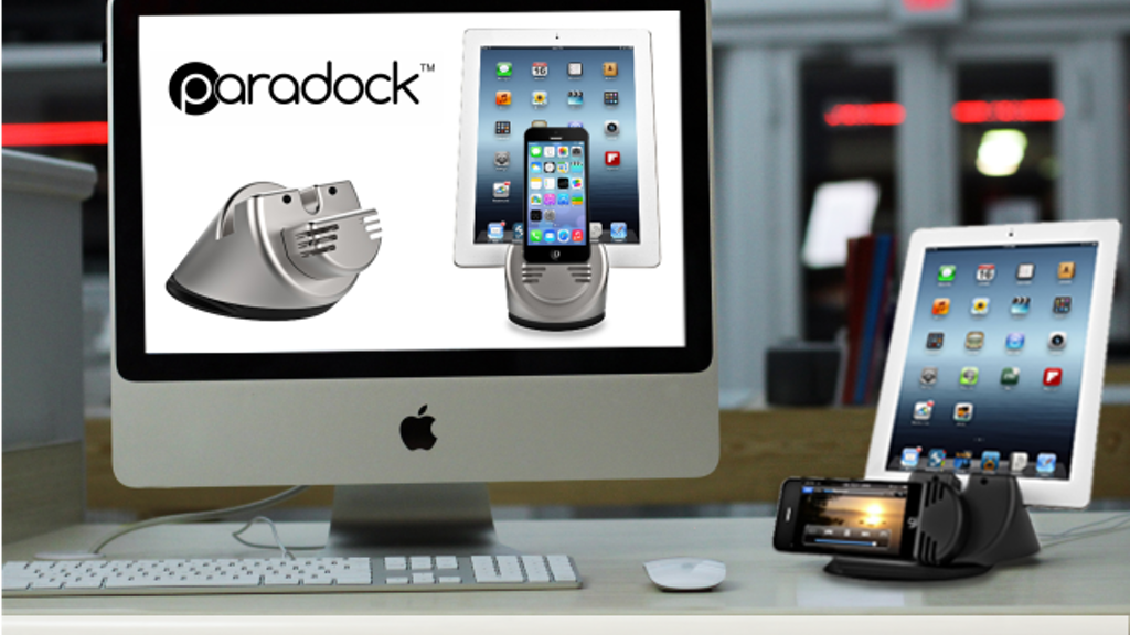Project image for Paradock:  Game Changing Dock for iPhone5,5s,5c,iPad,Android