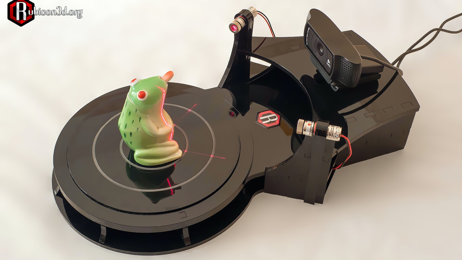 Rubicon 3D scanner by Robert Mikelson and Grant Cox » wire harness on
