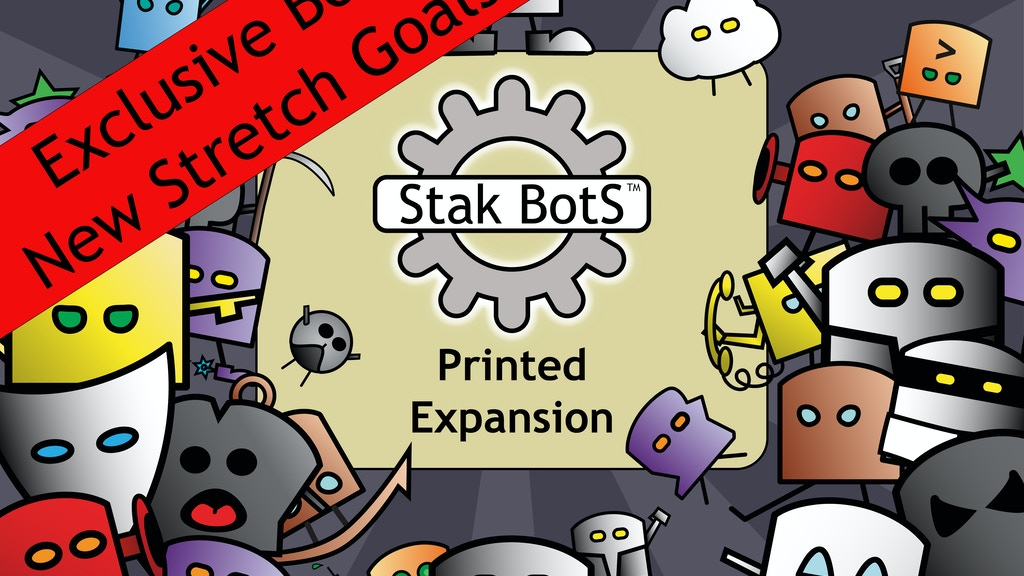 Stak Bots: Battling Robots Card Game project video thumbnail