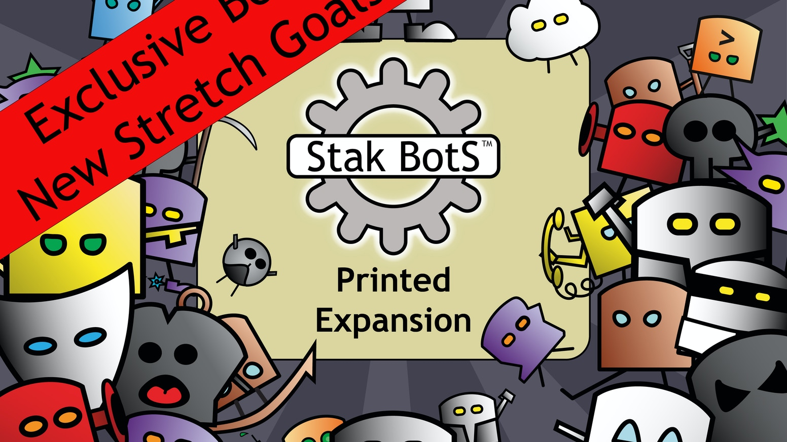 Fun, quick and sneakily strategic! The next batch of Bots is ready for the production line!  Get the expansion and the original game!