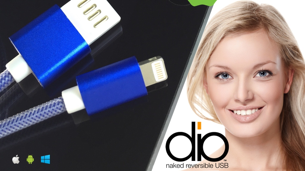 dio Naked Reversible USB cables for Lightning and Micro project video thumbnail