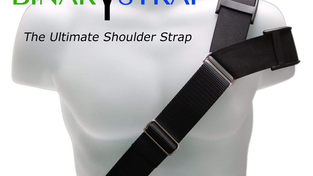 Binary Strap - The Ultimate Shoulder Strap project video thumbnail