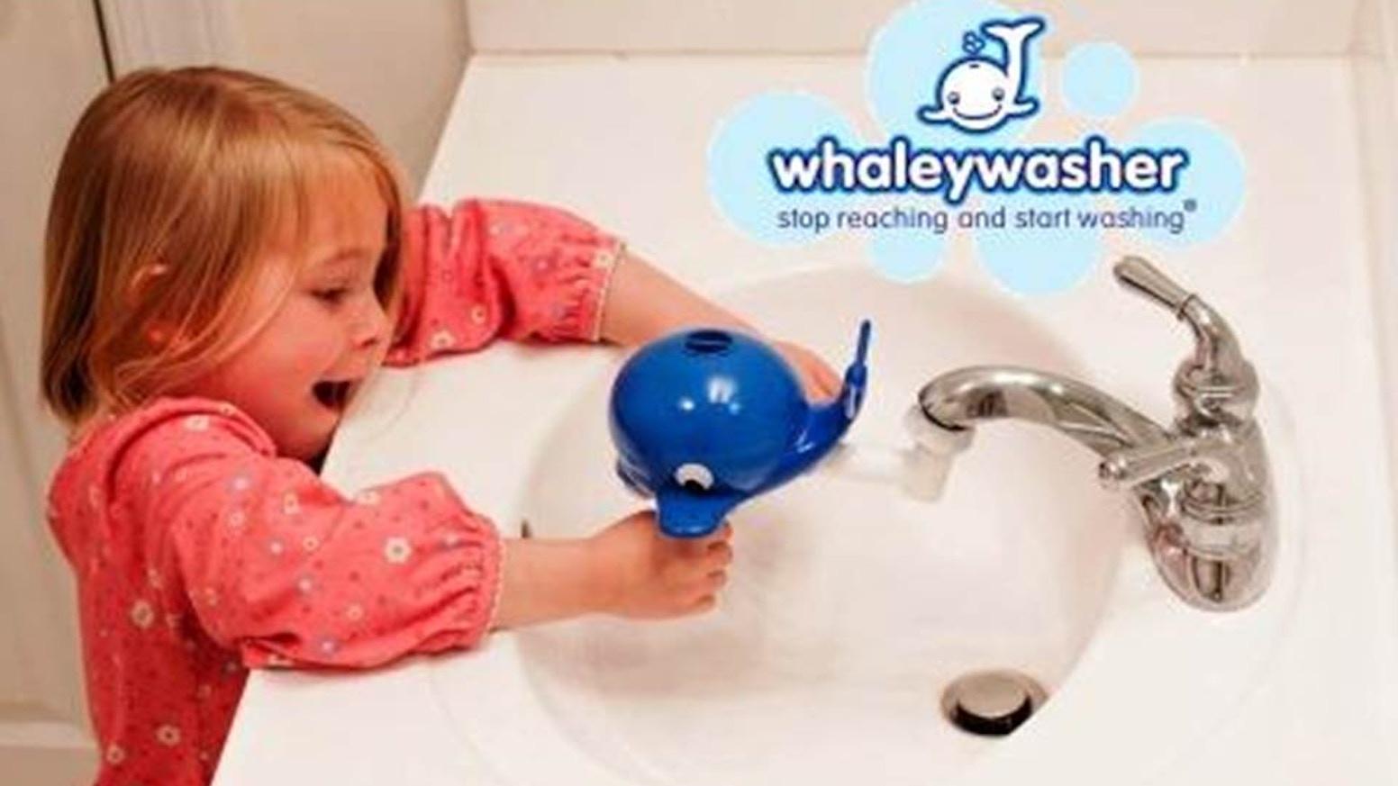 World S First Faucet Extender Amp Soap Dispenser For