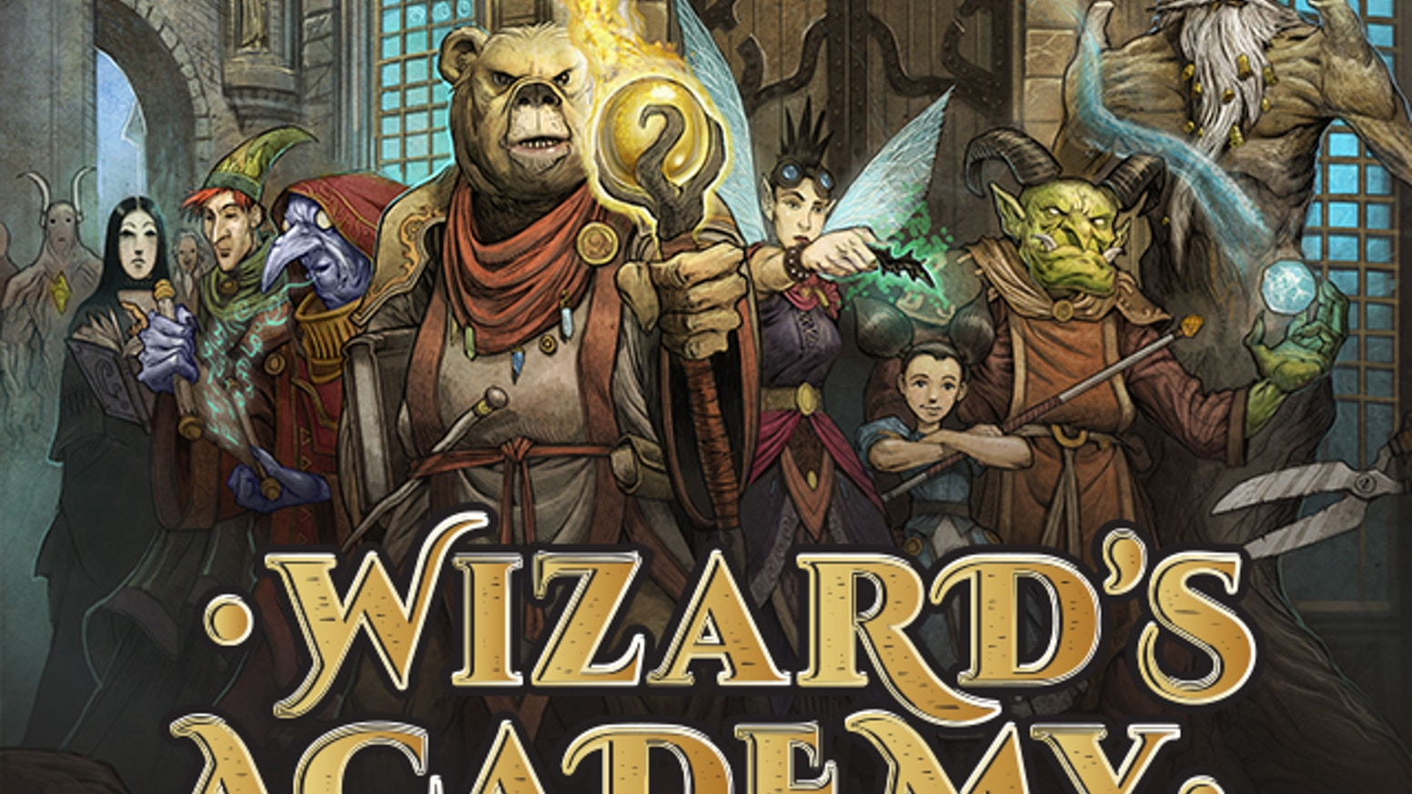 A cooperative game of magical experimentation with different powers each time.Stretch goals added new scenarios, minis and spells to every game!