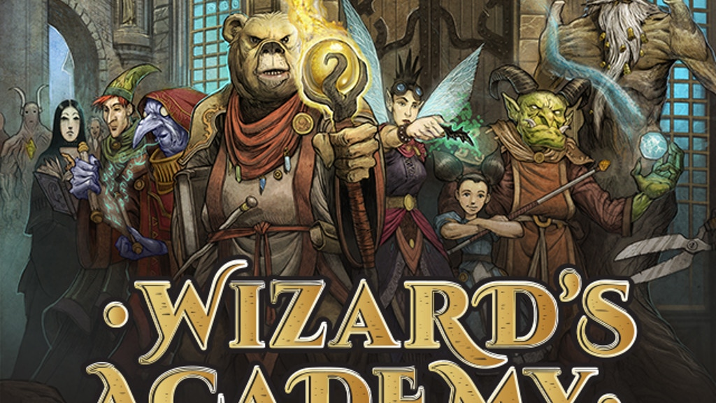 Wizard's Academy project video thumbnail