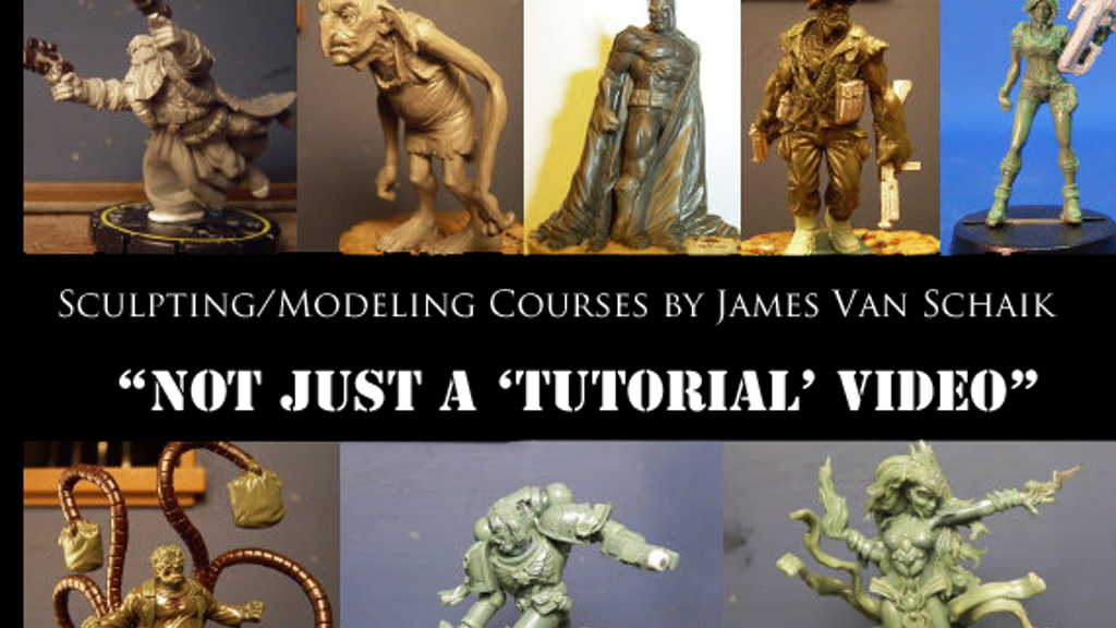 Modeling and Sculpting Course Videos by James Van Schaik project video thumbnail