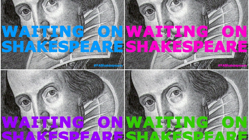 WAITING ON SHAKESPEARE project video thumbnail