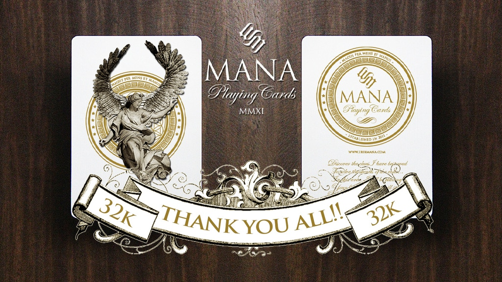 Mana Playing Cards project video thumbnail