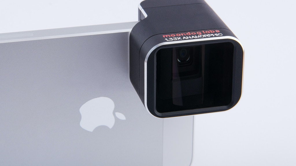 1.33x Anamorphic Adapter Lens for iPhone 5/5S project video thumbnail
