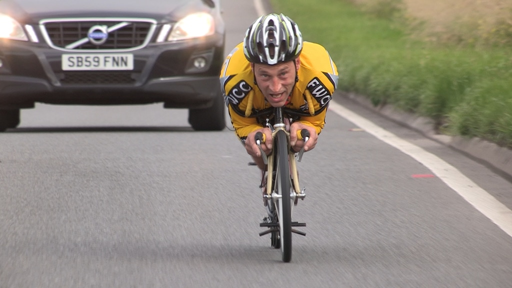 The Outsider : Graeme Obree's story, in his own words project video thumbnail