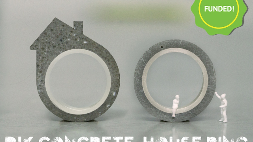 The DIY Concrete House Ring project video thumbnail