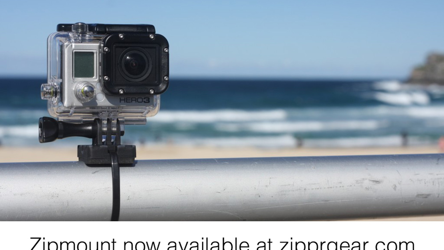 A simple, compact and reusable mount that combines GoPro compatible mount fittings with the versatility and strength of zip ties.