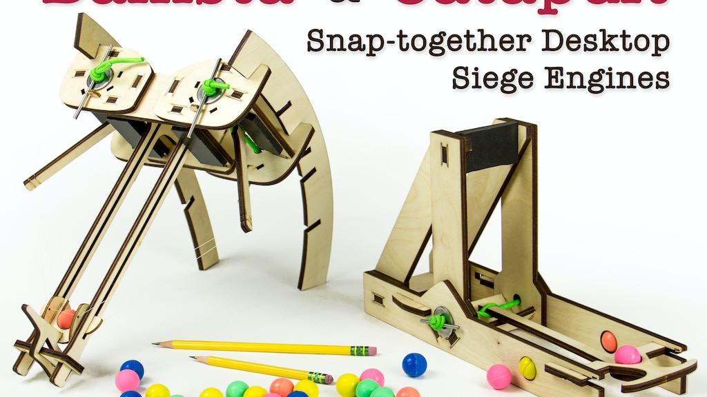 Siege Toys: Desktop Catapults & Ballistas project video thumbnail