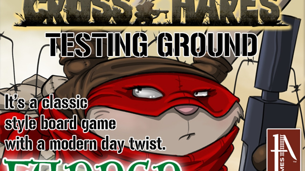 Cross Hares: Testing Ground – New Board Game from 1A Games project video thumbnail