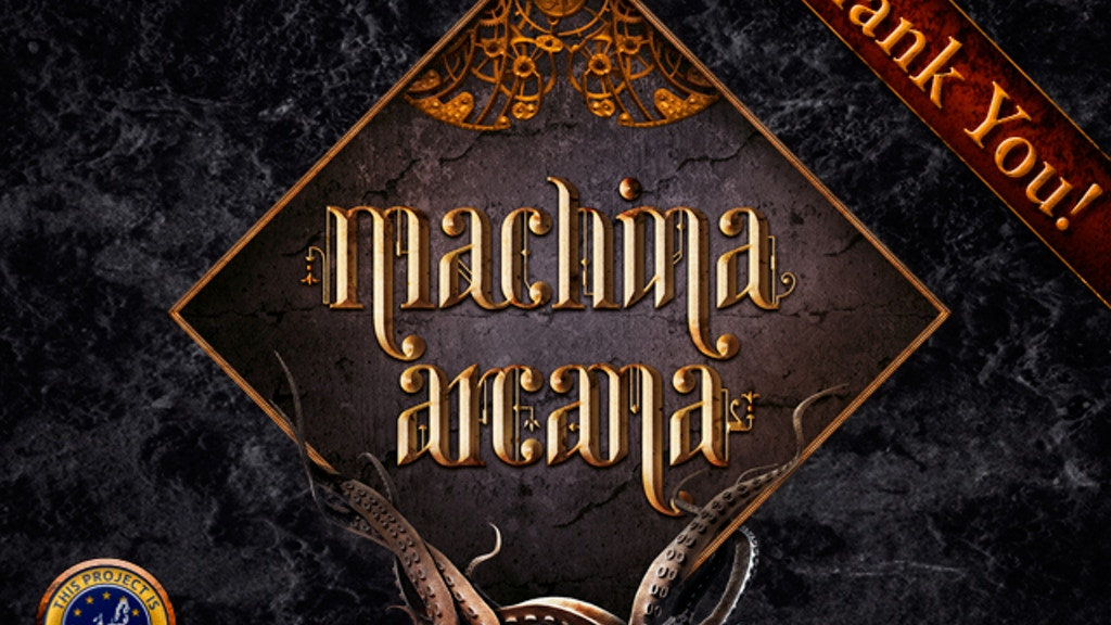 Machina Arcana project video thumbnail