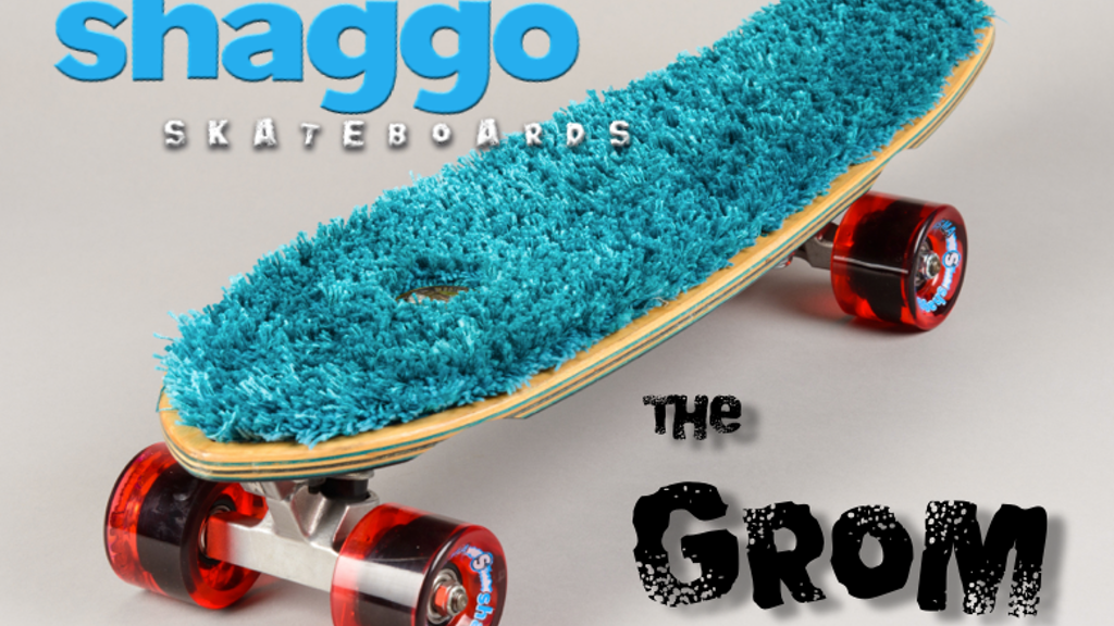 "The Shaggo ""Grom"" Skateboard project video thumbnail"