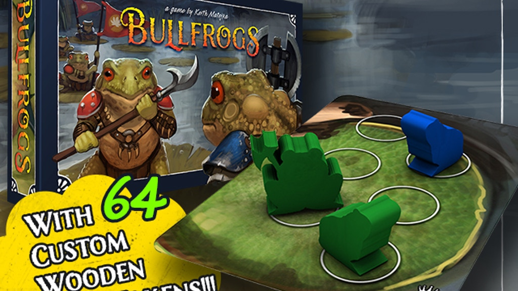 Bullfrogs - A Strategy Game of Amphibian Combat project video thumbnail
