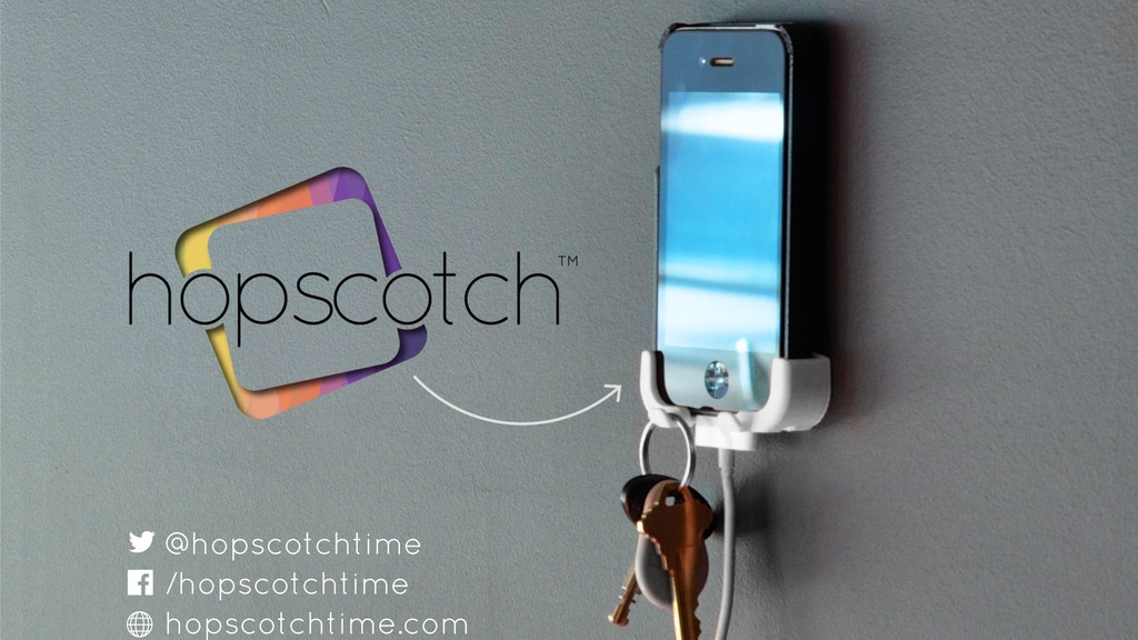 Hopscotch Wall & Car Mount for iPhone (4S + 5 + 5C + 5S) project video thumbnail